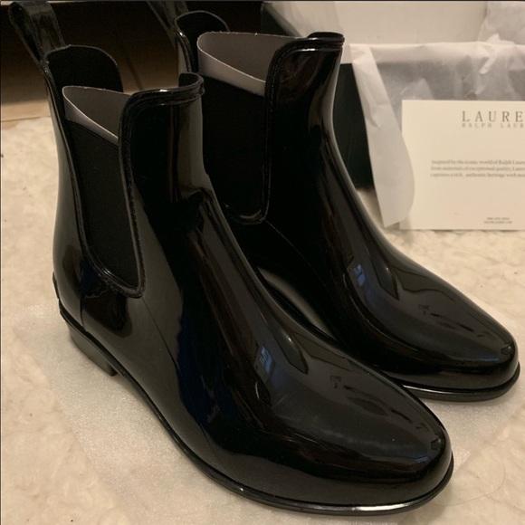 be2031f5b35 LAUREN Ralph Lauren rain boots NWT